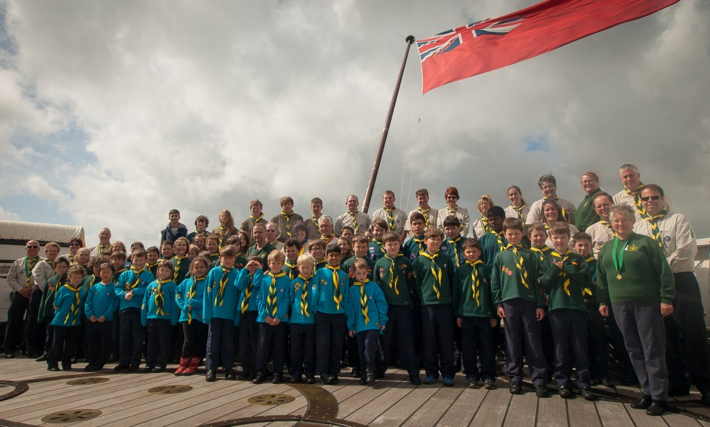 The Group, HMS Warrior, Portsmouth